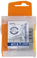 Lutz Trapezklinge TGL65-SZ, 61mm, Standard, Sicherheitsspender (50 Stück)