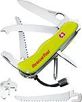 VICTORINOX Taschenmesser RescueTool, gelb, 13 Funktionen, Einhandbedienung