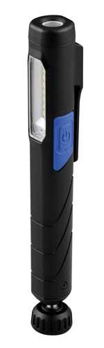 Hesse Inspektionslampe HI 1.110 USB, Akku, 2 LED (Kopf 80lm/Seite 200lm),IP20