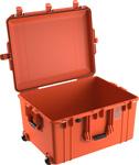 1637Air leer, orange