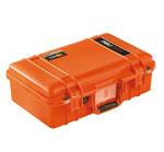 Peli Case 1485Air mit Schaumstoff, orange